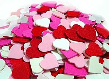 2 set of 300 mini hearts foam stickers valentines day heart stickers arts and - Valentines Day Arts And Crafts