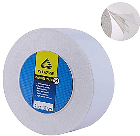 inhome doppelseitig teppich tape wei abnehmbar - Geflschte Hartholzbden Ber Teppich