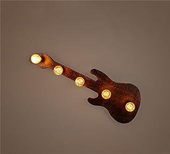 ZH Apliques Lámpara de pared de hierro retro Estilo industrial Bar ...
