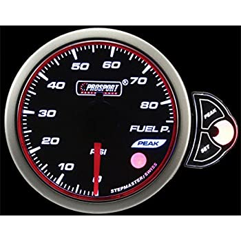 Terrific Amazon Com Prosport Gauges Halo Series Oil Pressure Gauge Automotive Wiring 101 Orsalhahutechinfo