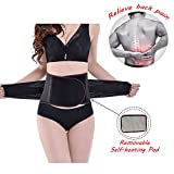 ZSZBACE Double Pull Fastener Lumbar Lower Back Support Brace Belt for Pain Relif,Heavy Lifting,Sciatica,Adjustable (XXL)