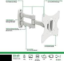PureMounts BASIC2-37W Soporte de pared para TV con 58-107 cm (37 ...