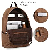 Canvas Backpack Lightweight Travel Daypack