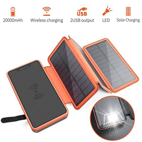 PLANT Cargador Solar de energía móvil, Banco de energía ...