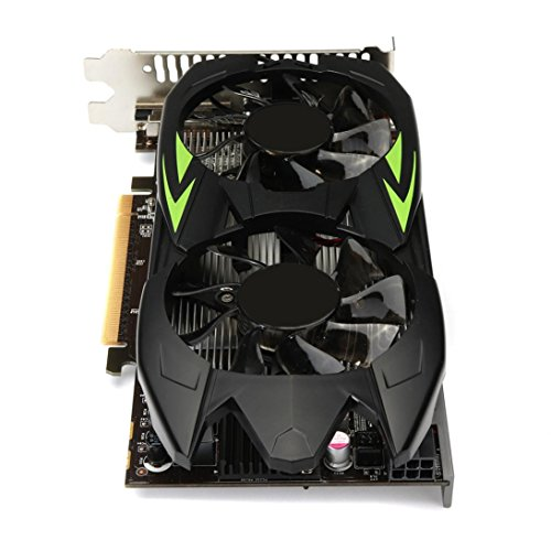 Clearence!! Gaming Graphic Card 3GB GTX660TI 3GB GDDR5 192bit VGA DVI HDMI Graphics Card with Fan (Black) by Saingace (Image #2)