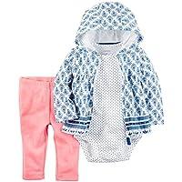 Conjunto 3 Peças Inverno Carter's Jaqueta Azul