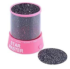 Beautiful Star Master Night Light Sky Projector Atmosphere Revolving Lamp Children Kids Christmas Birthday Present Romantic Gift