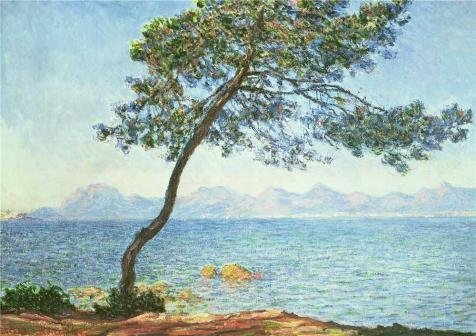 Oil Painting 'The Esterel Mountains, 1888 By Claude Monet' Printing On High Quality Polyster Canvas , 8x11 Inch / 20x29 Cm ,the Best Bathroom Decor And Home Gallery Art And Gifts Is This High Quality Art Decorative Prints On Canvas