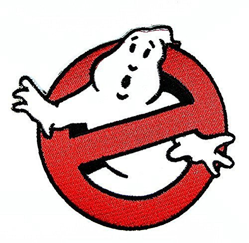 Ghost Busters Movie Logo I Embroidered Sew Iron on Patches Great Gift for Dad Mom Man Woman -