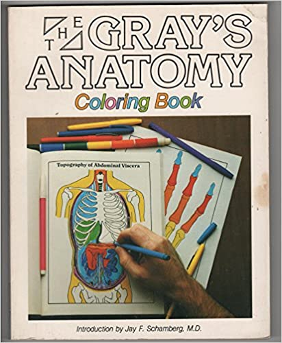Grays Anatomy Coloring Book