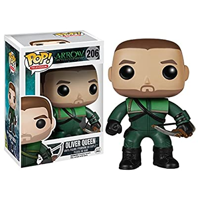 Funko POP TV: Arrow - Oliver Queen 'the Green Arrow' Action Figure: Funko Pop! Television:: Toys & Games