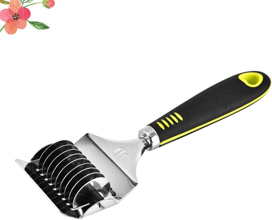 UPKOCH Edelstahl Nudel Gitter Roller Docker Teigschneider Pasta Spaghetti Maker f/ür K/üche Kochutensilien