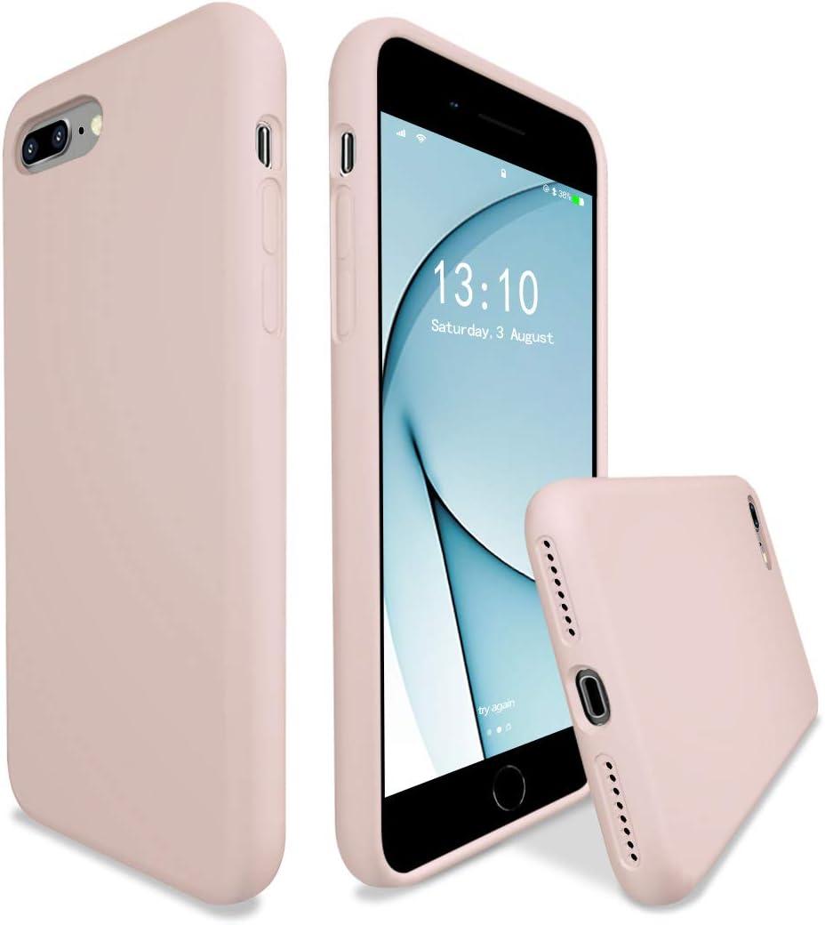 K TOMOTO Liquid Silicone Case Compatible with iPhone 8 Plus, iPhone 7 Plus Case (5.5