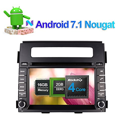 Android 7.1 Quad Core Car Stereo CD DVD Player with: Amazon.co.uk: Electronics