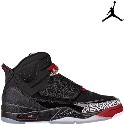 Nike Jordan Air su Of marzo BRED 512245-001, color negro y rojo