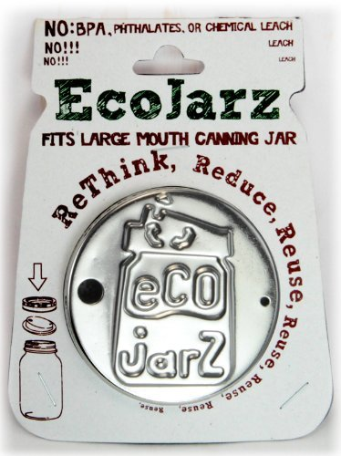 Ecojarz Wide Mouth Stainless Steel Drink Top