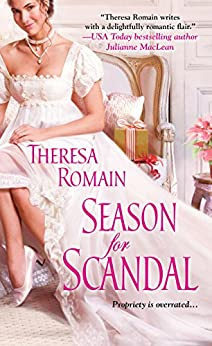 Season for Scandal (Holiday Pleasure Book 3) by [Romain, Theresa]