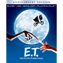 E.T. The Extra-Terrestrial - Anniversary Edition (Blu-ray + DVD + Digital Copy + UltraViolet)
