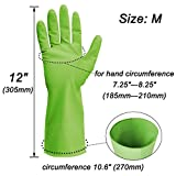 Cleanbear Synthetic Rubber Gloves, Medium