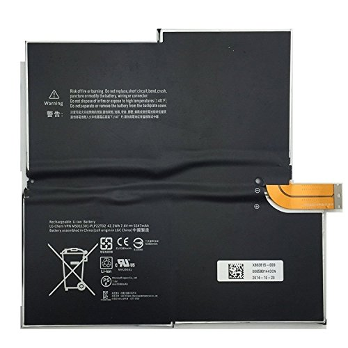 SUNNEAR 7.6V 42.2WH G3HTA005H Battery for MICROSOFT SURFACE PRO 3 1631 Windows 1577-9700 MS011301-PLP22T02