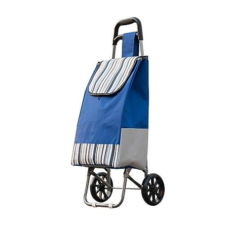 Trolley Plegable Carro de Compras Tela Oxford Impermeable ...