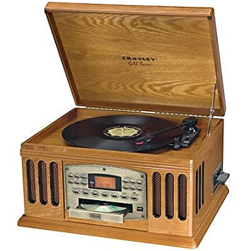 Amazon.com: Crosley CR80 – 0 A Gold Series Entertainer 4-in ...