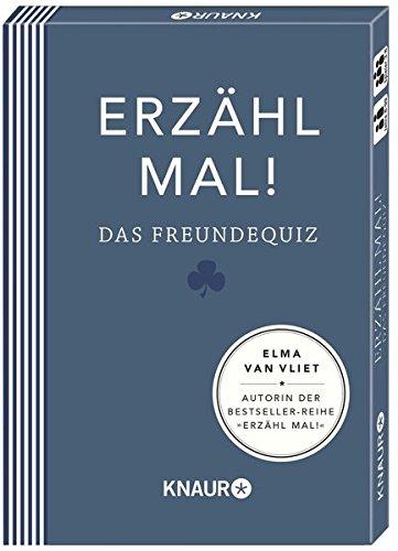 Erzähl mal! Das Freundequiz | Elma van Vliet Spielzeug – 1. Oktober 2014 Ilka Heinemann Matthias Kuhlemann Knaur HC B00L3RWW64