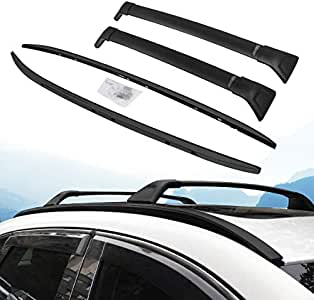 INEEDUP Cross Bars Roof Rack Fit For 2017-2019 Mazda CX-5 Sport Utility 4-door OE Style Bolt-On Roof Rack Rail Cross Bar Luggage Cargo Carrier,2-Pack