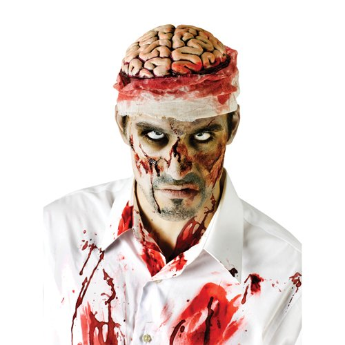 Fun World Zombie Bloody Brain Headpiece -