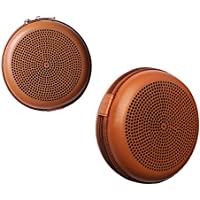 Pushingbest Carrying Case for BeoPlay A1 B&O Play by BANG & OLUFSEN Bluetooth Speaker Hard PU (Brown)