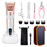 Best Dog Clippers Wirelesses - OCOOPA Rechargeable Cordless Grooming Clippers Kit for Dogs Review