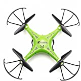 "Drone ""Eachine"" E5C: With 2.0MP HD Camera 2.4G 4CH 6Axis Headless Mode One Key Return RC Quadcopter RTF (green)"