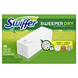 Swiffer Sweeper Dry Sweeping Pad Multi Surface Refills, Unscented, 48 Count