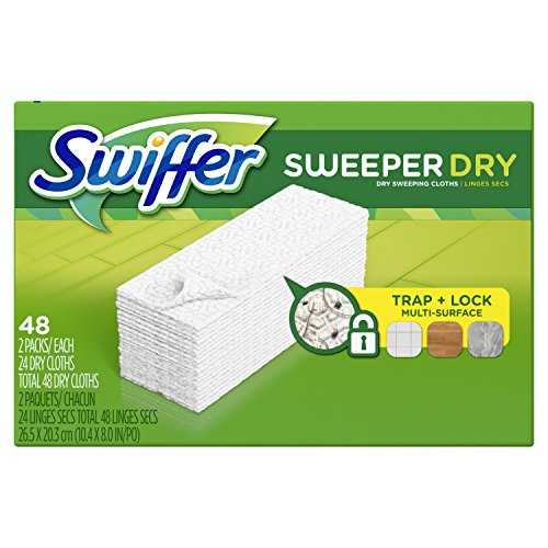 Swiffer Sweeper Dry Sweeping Cloth Refills, 48 Count (48 Count Refill)
