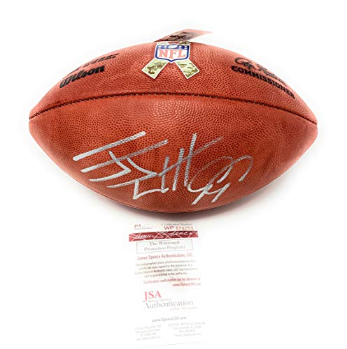 JJ Watt Houston Texans Signed Autograph Rare Salute To Service Authentic NFL Duke Football Watt Player Holo JSA Witnessed Certified from Mister Mancave