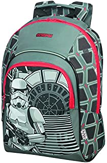 American tourister - Disney Grab'N'Go - Star Wars Backpack/Duffle Bag Gym Tote, 54 cm, 49 liters, Multicolour (Stormtrooper Geometric)