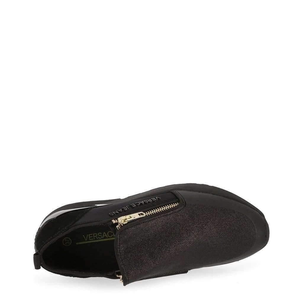 Versace Jeans Women Black Sneakers
