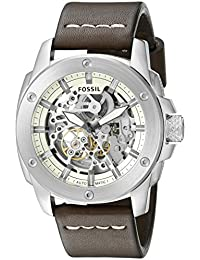 Men's ME3083 Modern Machine Automatic Leather Watch - Brown
