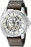 Fossil Men's ME3083 Modern Machine Automatic Leather Watch - Brown