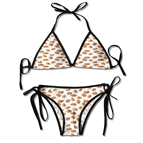 - Custom Pattern Bikini Underwear String Briefs Panties Sexy for Women