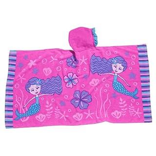 Three Cheers for Girls 60060 Little Cheers Mermaid Ruffle Hooded Towel