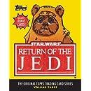 Star Wars: Return of the Jedi: The Original Topps Trading Card Series, Volume Three (Topps Star Wars)