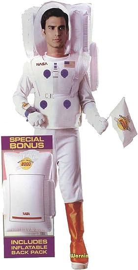 Disfraz Astronauta Adulto Talla Unica: Amazon.es: Juguetes y juegos