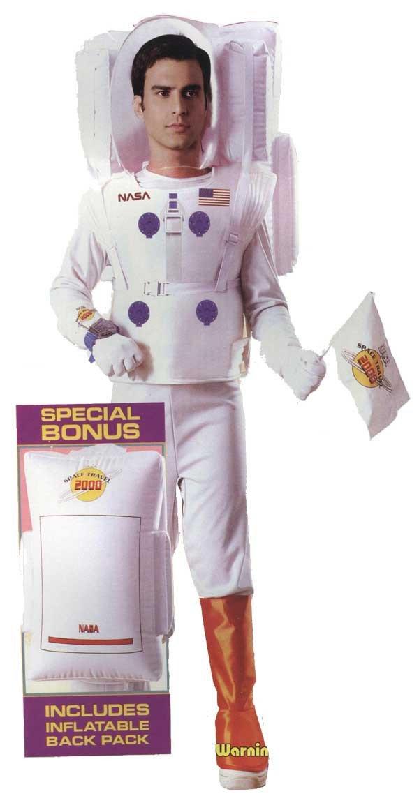 Disfraz Astronauta Adulto Talla Unica: Amazon.es: Juguetes y ...