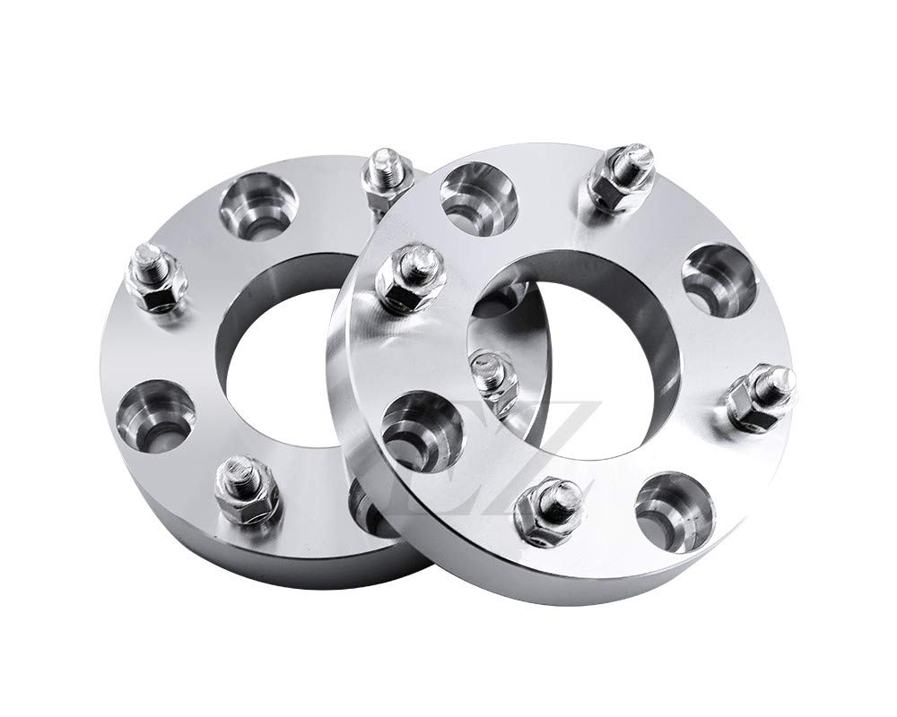 2 Wheel Adapters 4x98 To 4x100 Thickness 1 Inch Amazon In Car Motorbike