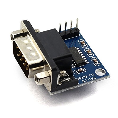 DZS Elec RS232 DB9 Male Serial Port to TTL Converter MAX3232 Root Module Connector MCU Programme Mobile Root Vehicle Examine and Repair Converter