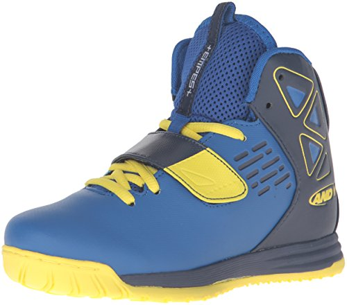 And 1 Kids' Tempest Boys AU Skate Shoe - Royal/Peacoat/Bl...