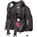 Zeagle Ranger LTD Scuba Diving BCD W/Inflator, Hose And RE Valve (Black, Small)