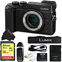 Panasonic DMC-GX8 (BLK1) Lumix Digital Camera Bundle (Black)