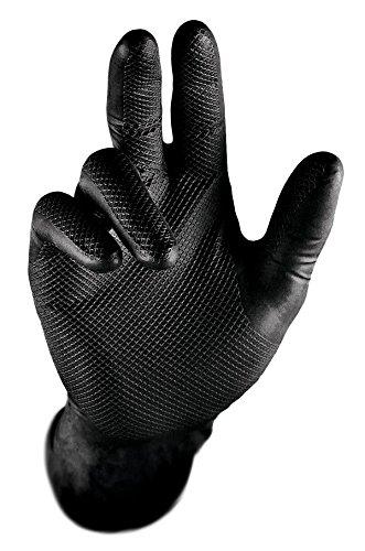 liquidation à chaud nouvelle arrivee acheter de nouveaux Extra rigide Gripster Skins nitrile Gants jetables – Lot de 50/25 paires –  Epi Cat 3 automatique Commercial – Haute Qualité sans poudre Gants par ...